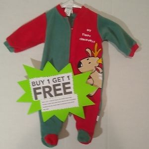 My First Christmas Pajamas Size 6 Months